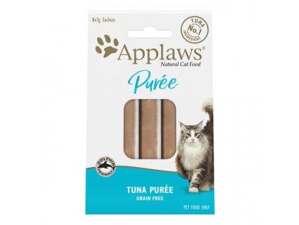 Applaws Purée Cat lízací pyré Tuňák 8 x 7g