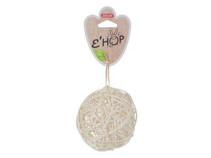Hračka hlodavec EHOP koule z přírodního ratanu Zolux