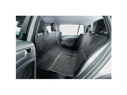 Autopotah za zadní sedadla 1,45x1,60m - černý TRIXIE