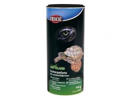 Granulované krmivo pelety pro suchozemské želvy 160 g/250 ml