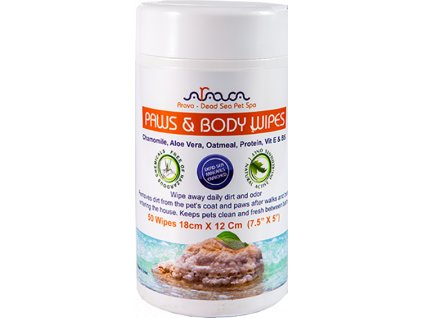 paws and body wipes 1