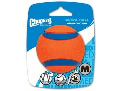 Míček Ultra Ball Medium 6,5 cm - 1 na kartě