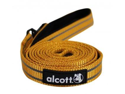 Alcott Reflexní vodítko pro psy, oranžové, velikost M
