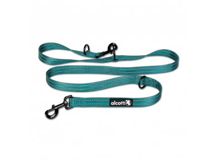 Alcott Nastavitelné vodítko pro psy, modré, velikost M