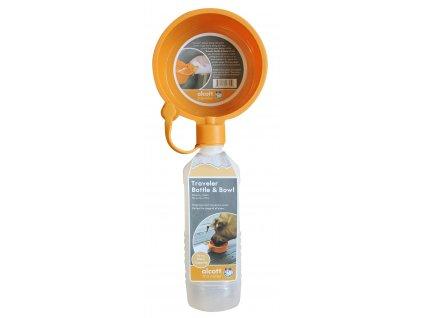 Alcott Cestovní láhev, oranžová