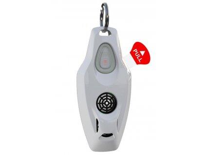 ZeroBugs Plus Ultrazvukový odpuzovač klíšťat a blech pro lidi, bílý