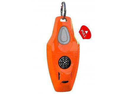 ZeroBugs Plus Ultrazvukový odpuzovač klíšťat a blech pro lidi, oranžový