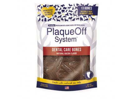 ProDen PlaqueOff Dental Bones slaninové 482g