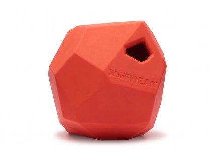 Ruffwear hračka pro psy, Gnawt-a-Rock, červená