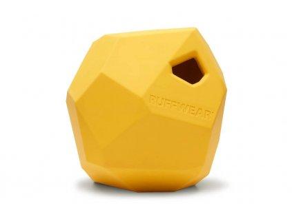 Ruffwear hračka pro psy, Gnawt-a-Rock, žlutá