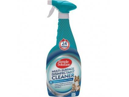 Multi-Surface Disinfectant Cleaner - dezinfekční prostředek na různé povrchy, 750 ml (účinný proti koronaviru)