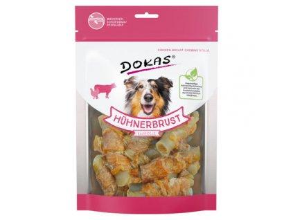 Dokas - Rolky z hovězí kůže obalené kuřecím 250 g