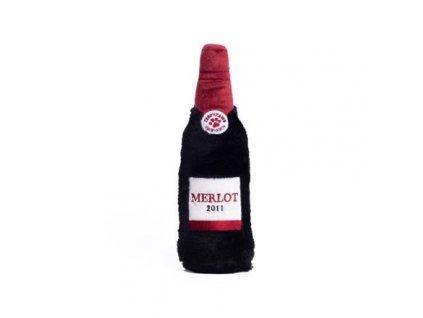 ZippyPaws Happy Hour Crusherz - Červené víno