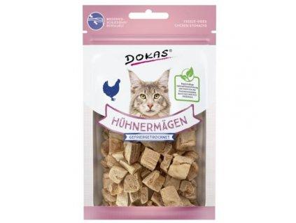 Dokas – Mrazem sušené kuřecí žaludky pro kočky 12 g