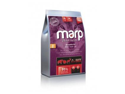 Marp Holistic Red Mix - hovězí,krůtí,zvěřina bez obilovin 12kg + Kelpa ZDARMA
