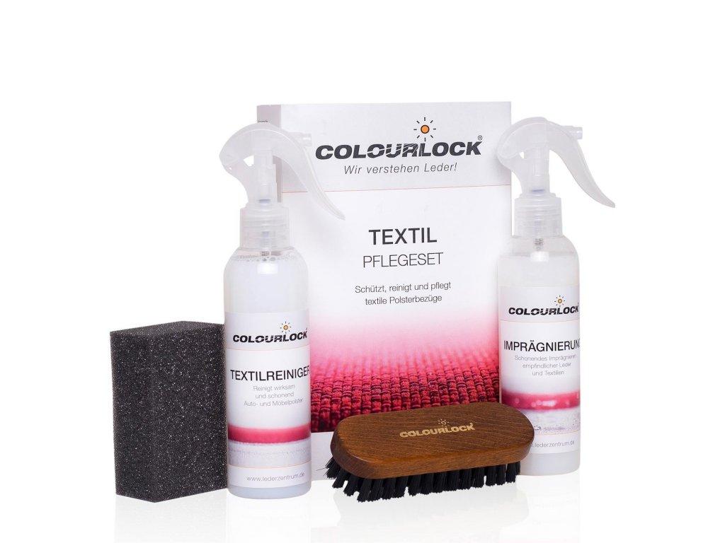 COLOURLOCK TEXTIL PFLEGESET - sada na čistění a impregnaci textilu