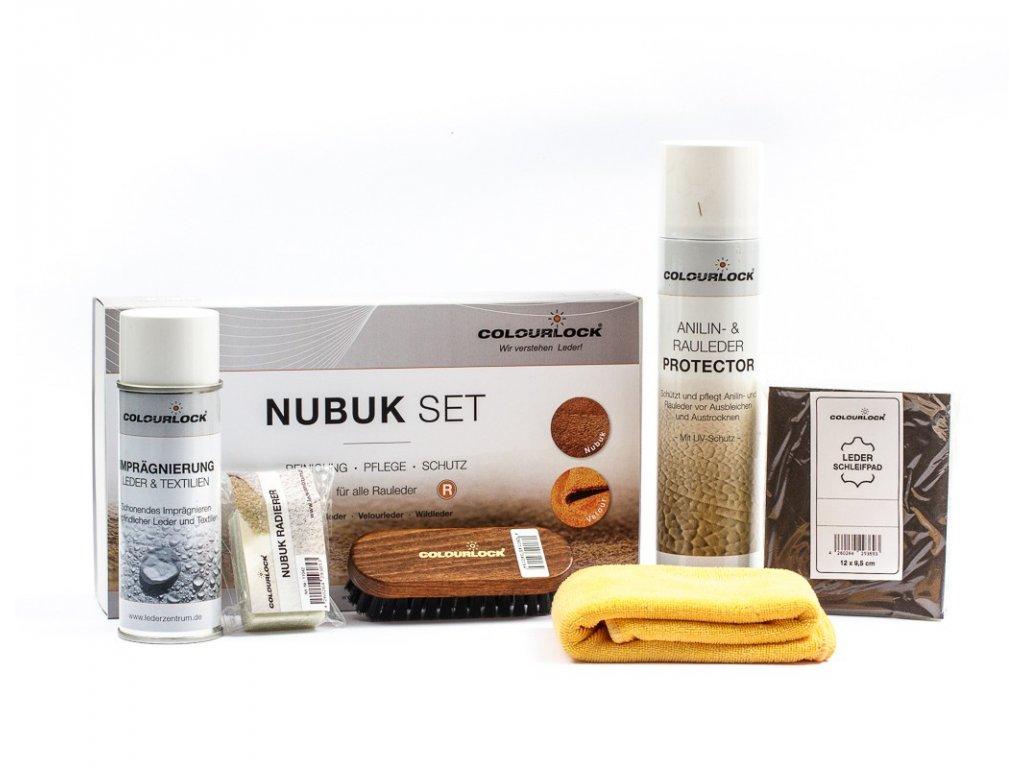 COLOURLOCK RAULEDER PFLEGESET sada na čistění a ochranu broušené kůže