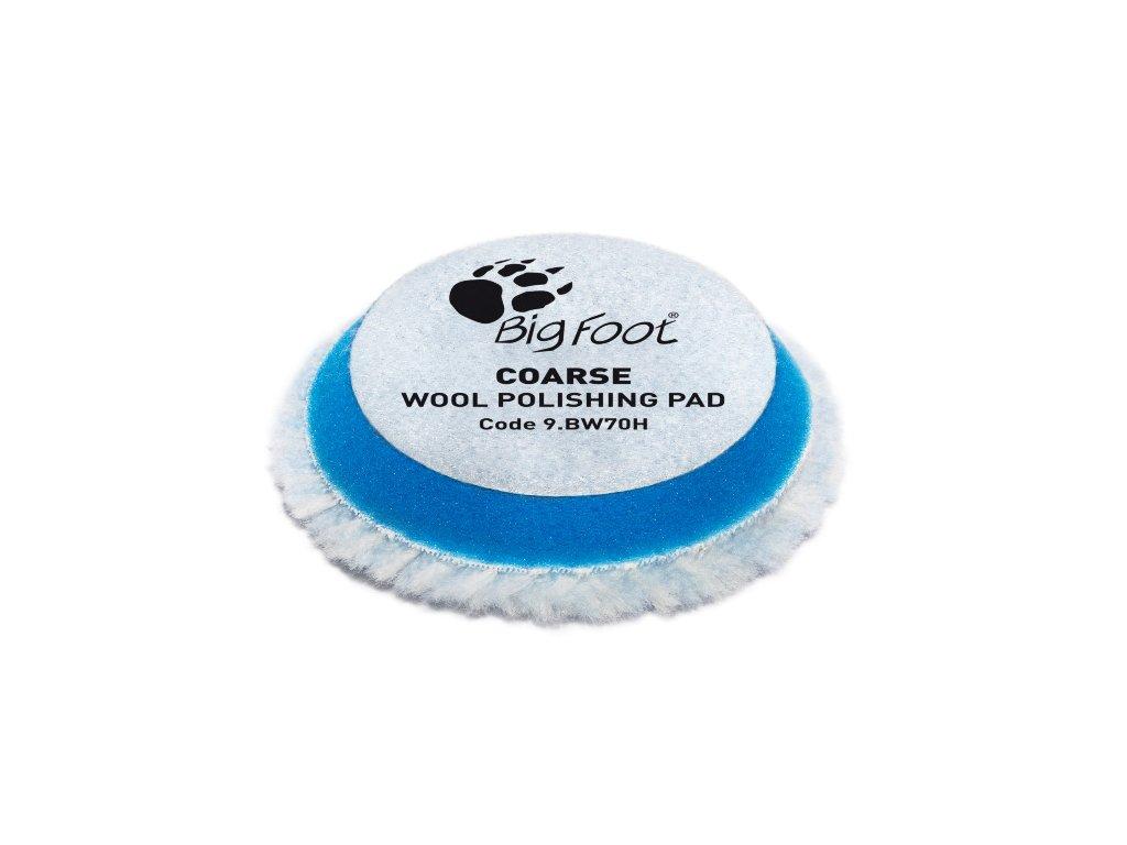 RUPES Blue Wool Polishing Pad COARSE vlnene korekcni kotouce tvrde pro RUPES iBrid BigFoot nano prumer 50 70 mm 2 sada 4 ks 201942412826