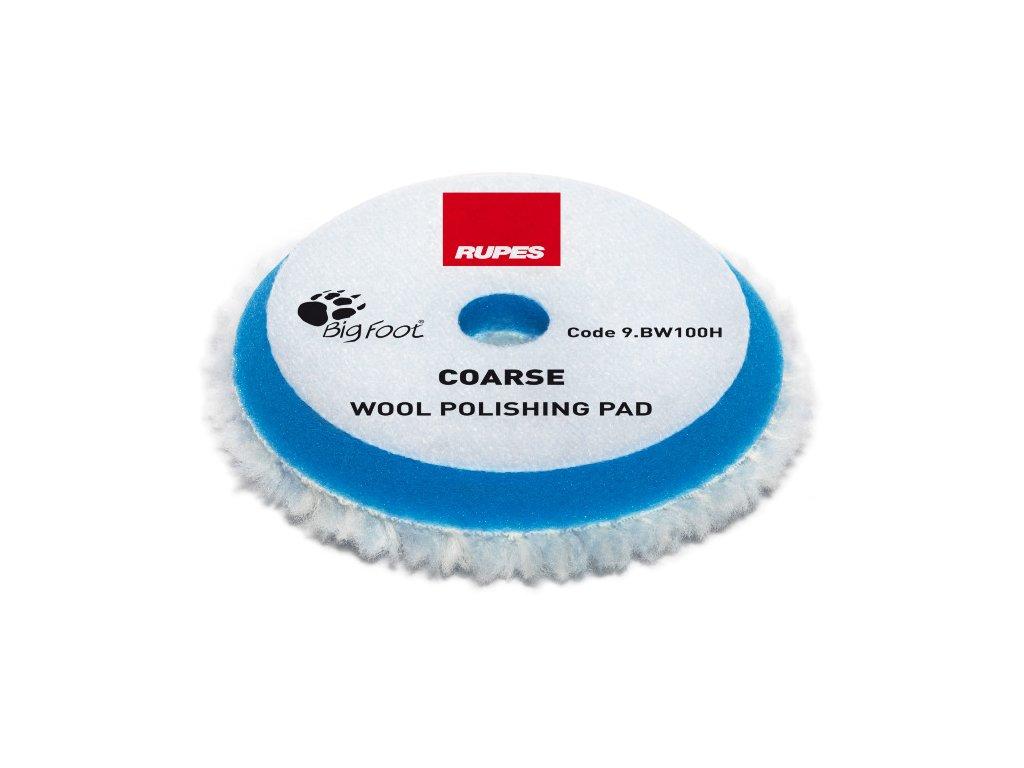 RUPES Blue Wool Polishing Pad COARSE vlneny korekcni kotouc tvrdy pro orbitalni lesticky prumer 80 100 mm 3 4 2019424121515