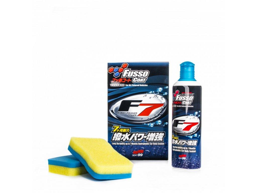 Soft99 Fusso Coat F7 All Colours - syntetický tekutý vosk