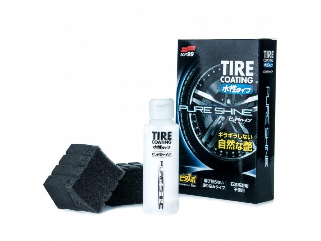 water based tire coating pure shine