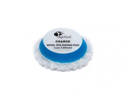 RUPES Blue Wool Polishing Pad COARSE vlnene korekcni kotouce tvrde pro RUPES iBrid BigFoot nano prumer 30 40 mm 1 1 4 sada 6 ks 201942412853