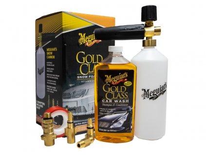 meguiars gold class snow foam kit sada napenovace a autosamponu meguiars gold class 473 ml 2021317121059