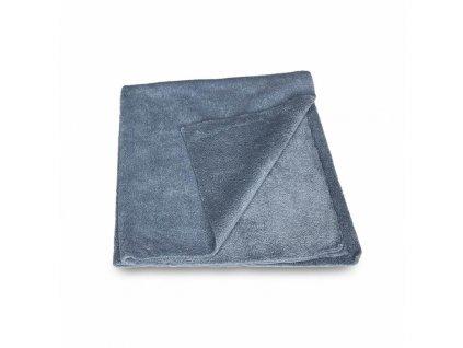 deturner grey velvet mikrofasertuch randlos 380gsm 40x40