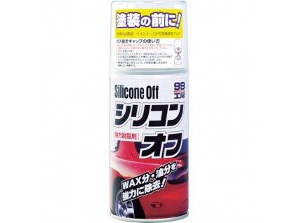 Soft99 silicone off odmaštění laku automobilu