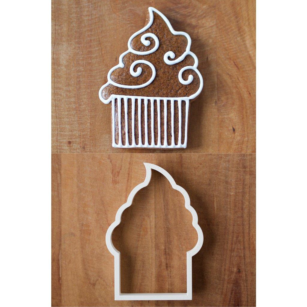 21. Střední cupcake