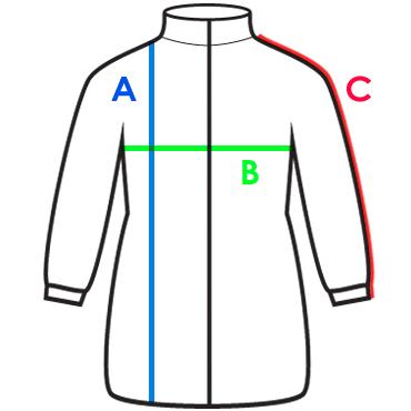 Meranie detské kabáty