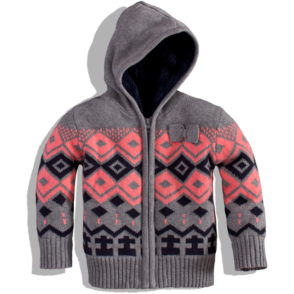 Dievčenský zateplený sveter Dirkje
