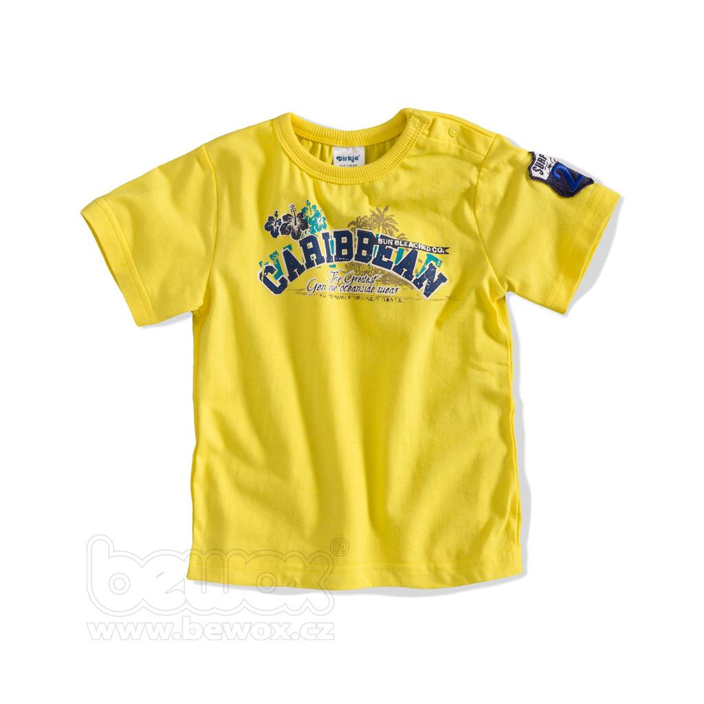 Dojčenské tričko s nápisom