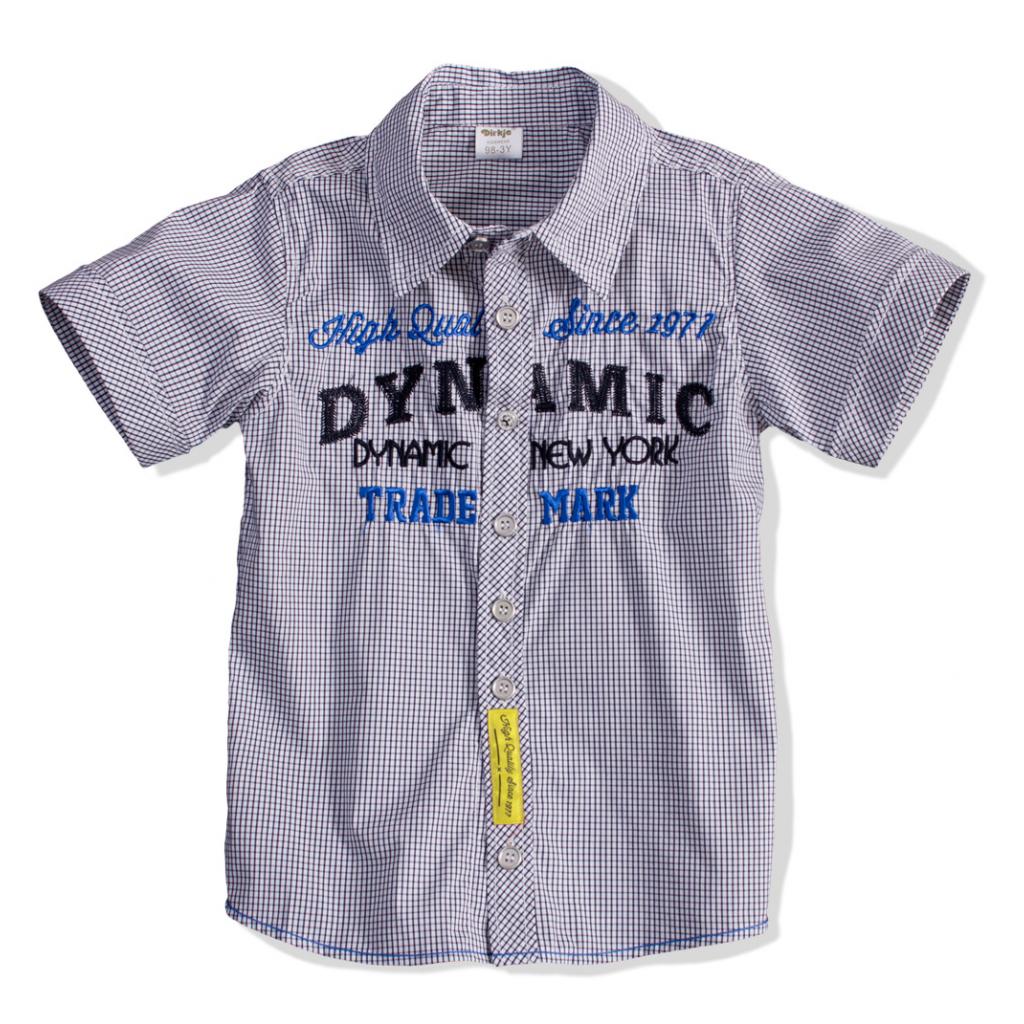 Detská košeľa krátky rukáv DIRKJE