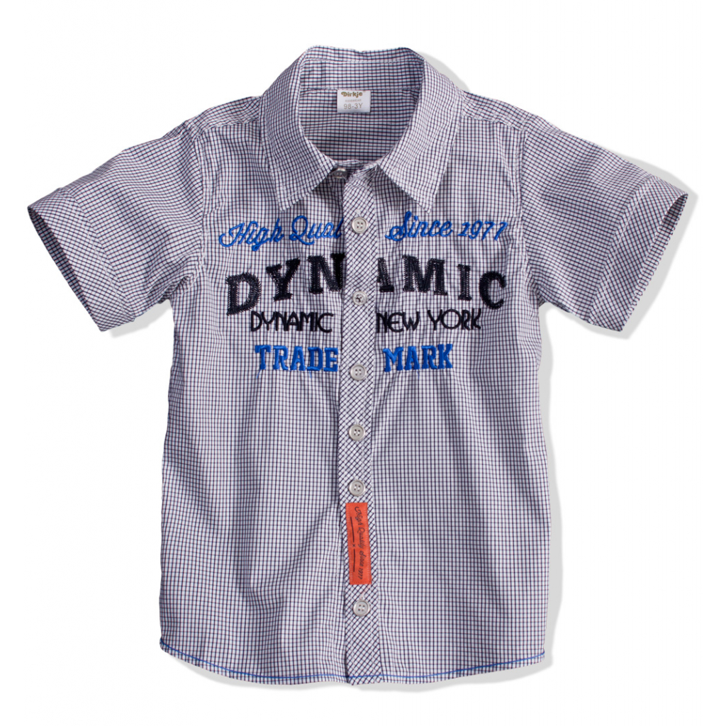 Detská košeľa krátky rukáv DIRKJE DYNAMIC