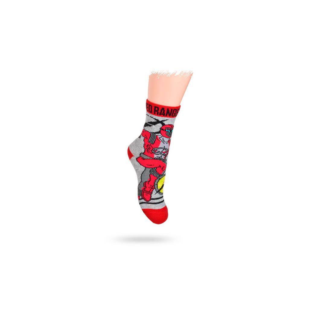 Detské ponožky DISNEY, vzor POWER RANGERS