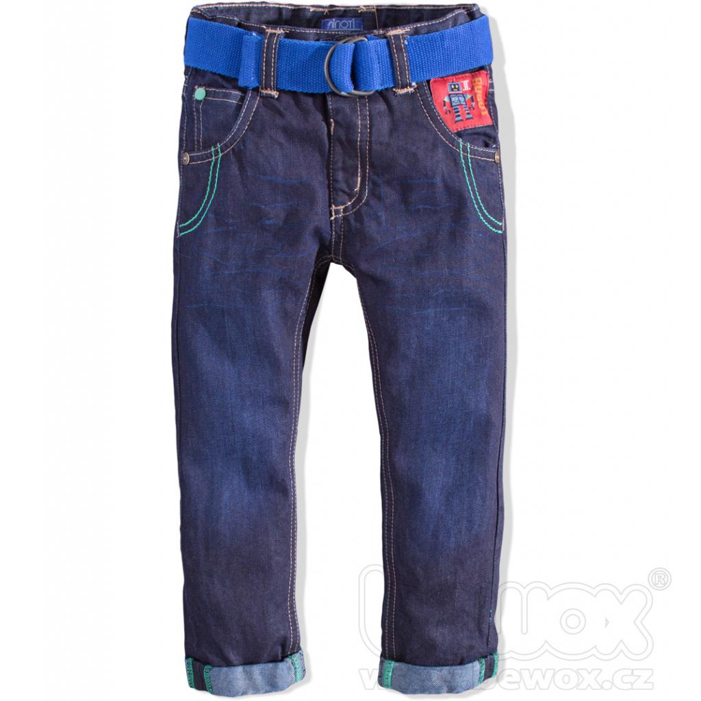 Chlapčenské džínsy Minoti ROBOT