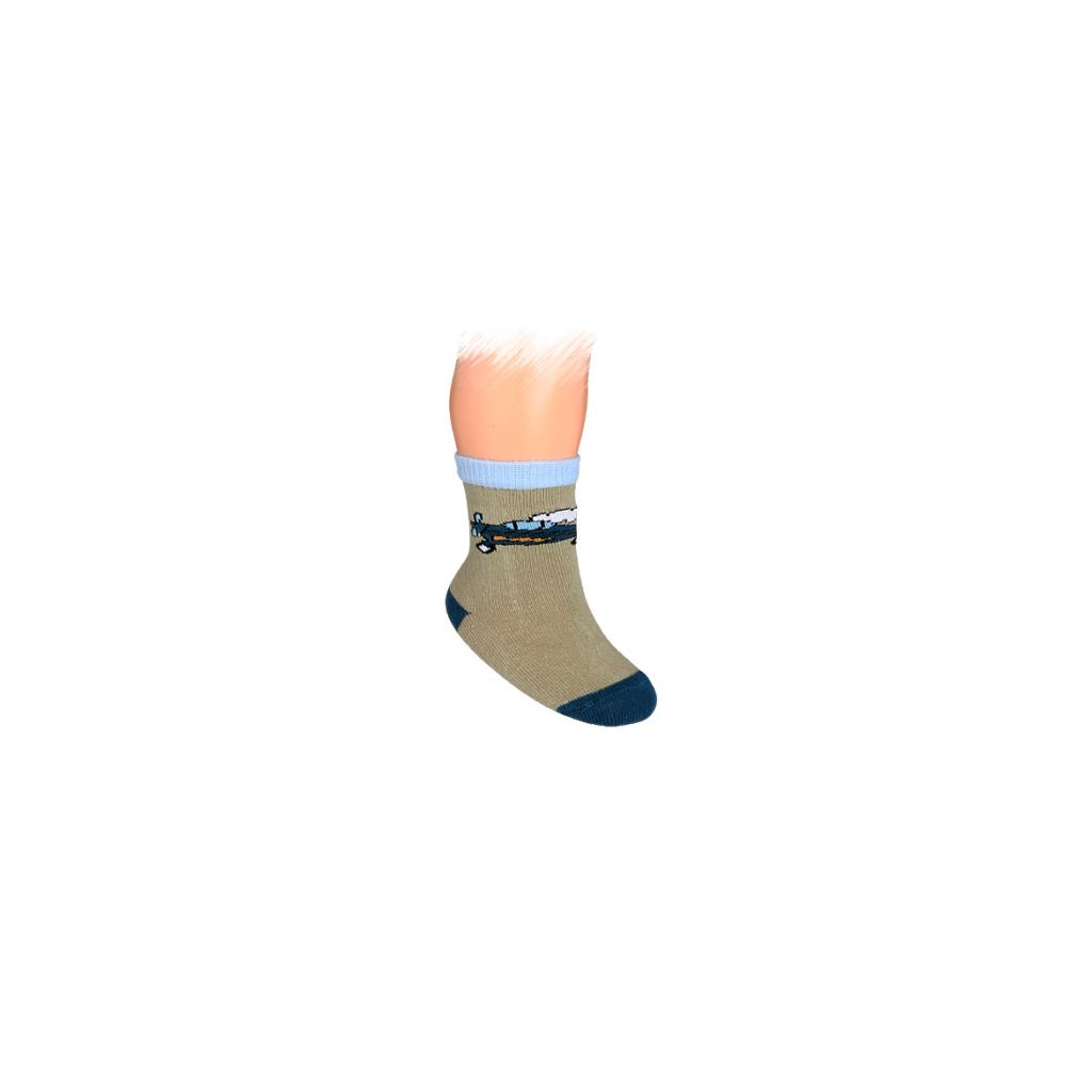 Dojčenské ponožky WOLA, vzor LIETADIELKO