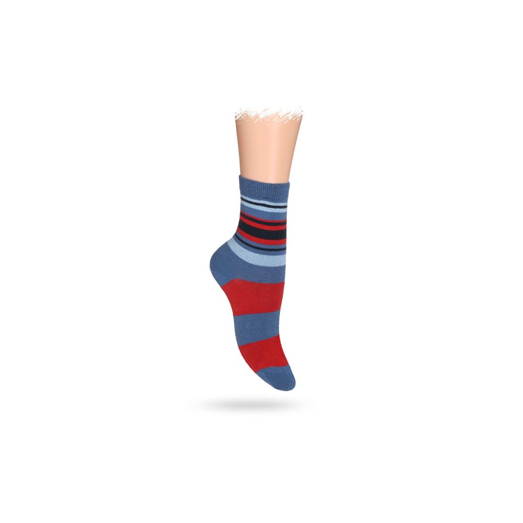 Detské ponožky ABS, vzor PRUHY