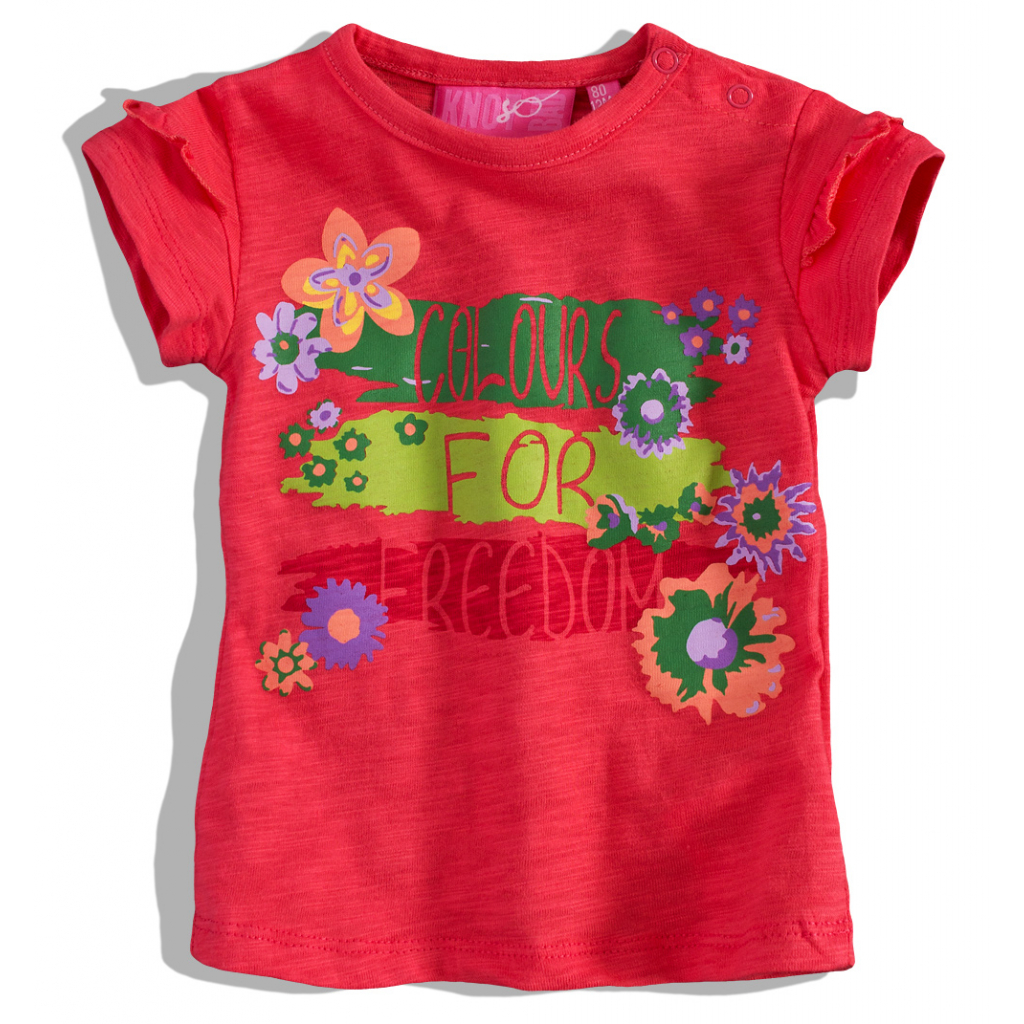 Dojčenské dievčenské tričko Knot So Bad