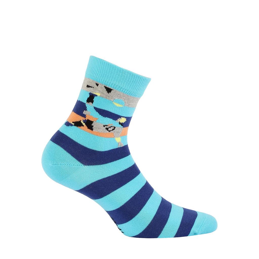Chlapčenské vzorované ponožky GATTA