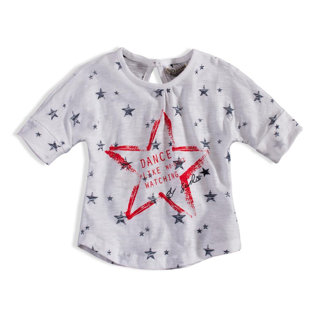 Dievčenské tričko DIRKJE STAR DANCE biele