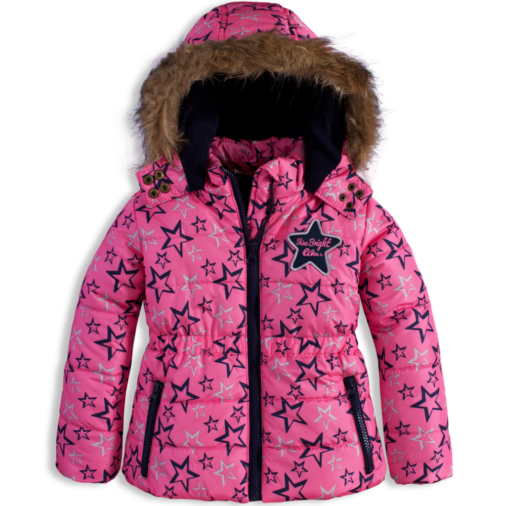 Dojčenská zimní bunda DIRKJE SHINE BRIGHT