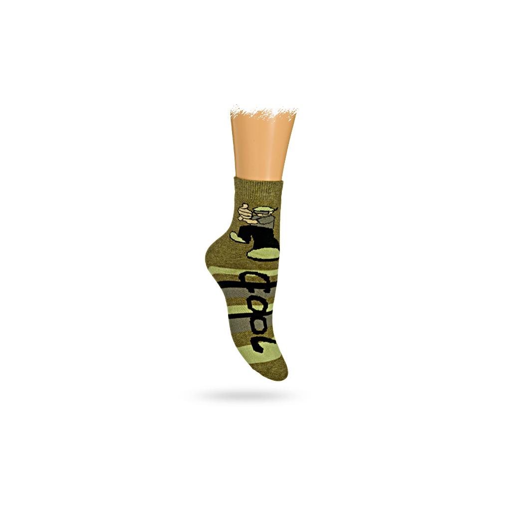 Detské termo ponožky, vzor CHLAPEC