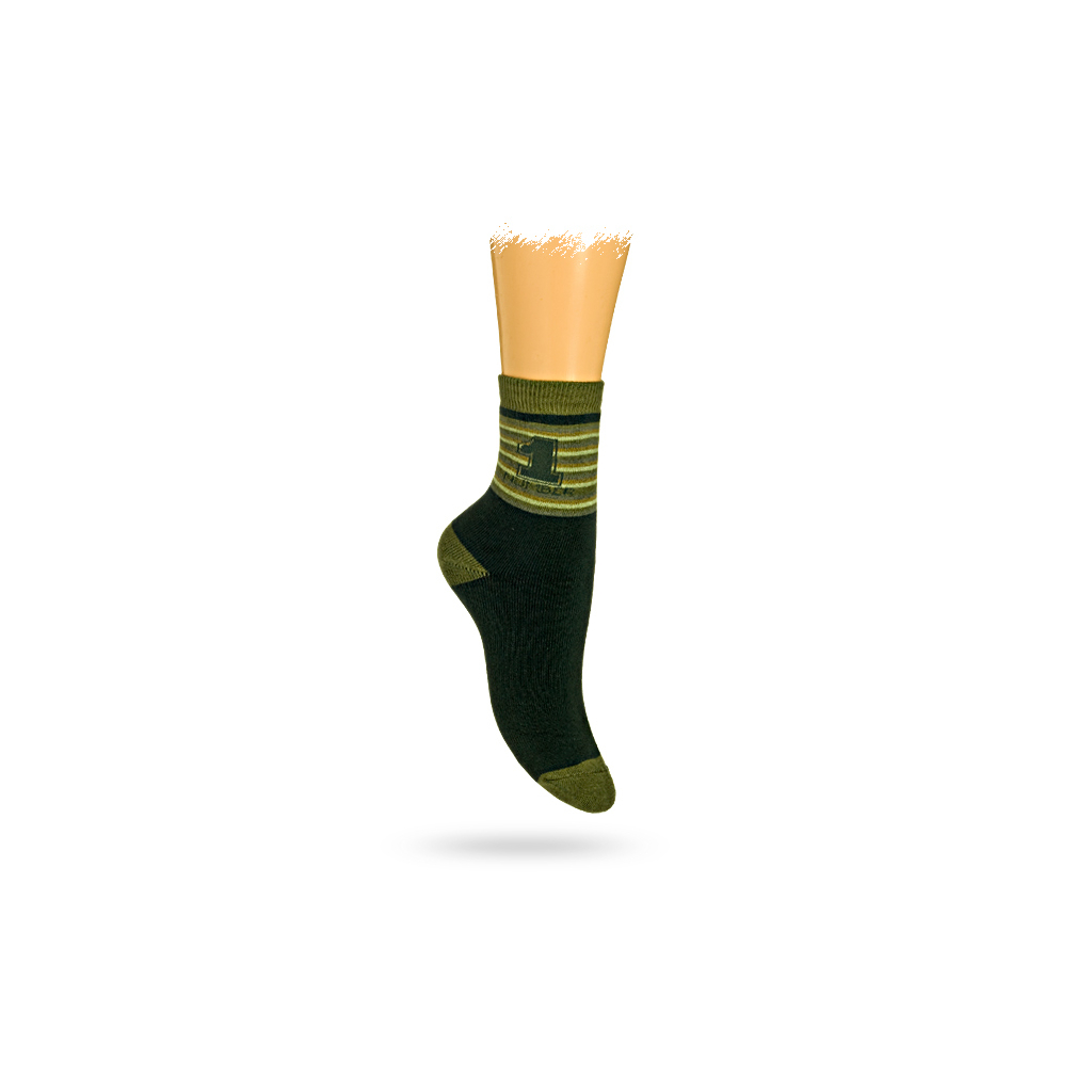 Detské termo ponožky, vzor NUMBER 1