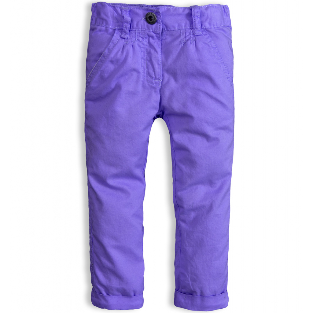 Dojčenské nohavice DIRKJE fialové