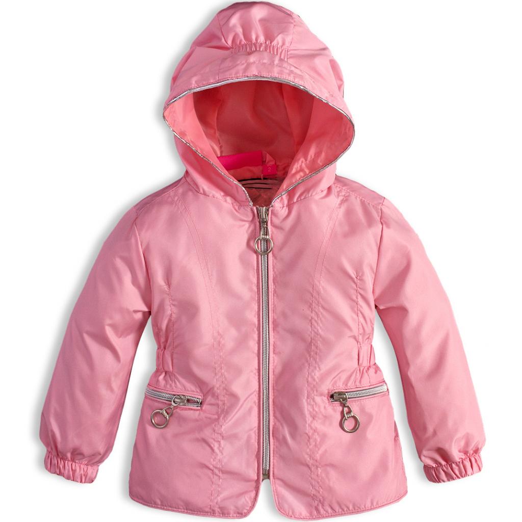 Dievčenská bunda KNOT SO BAD ružová