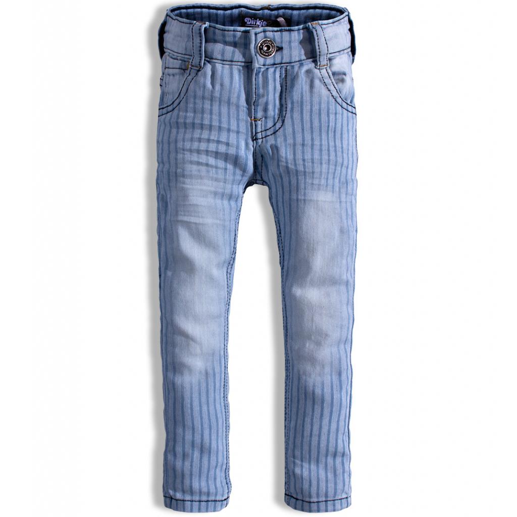 Detské nohavice DIRKJE PRÚŽKY modré