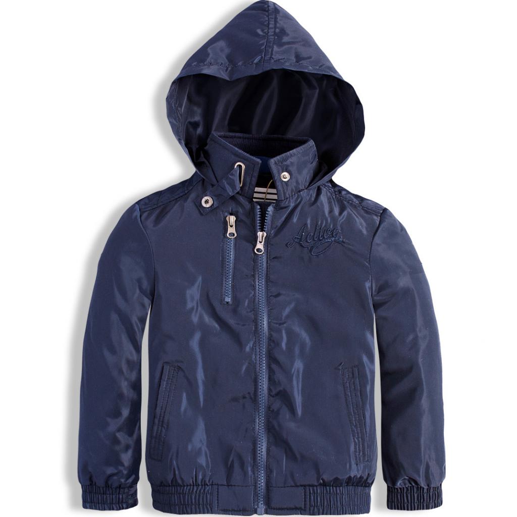 Detská jarná bunda KNOT SO BAD ACTIVE tmavo modrá