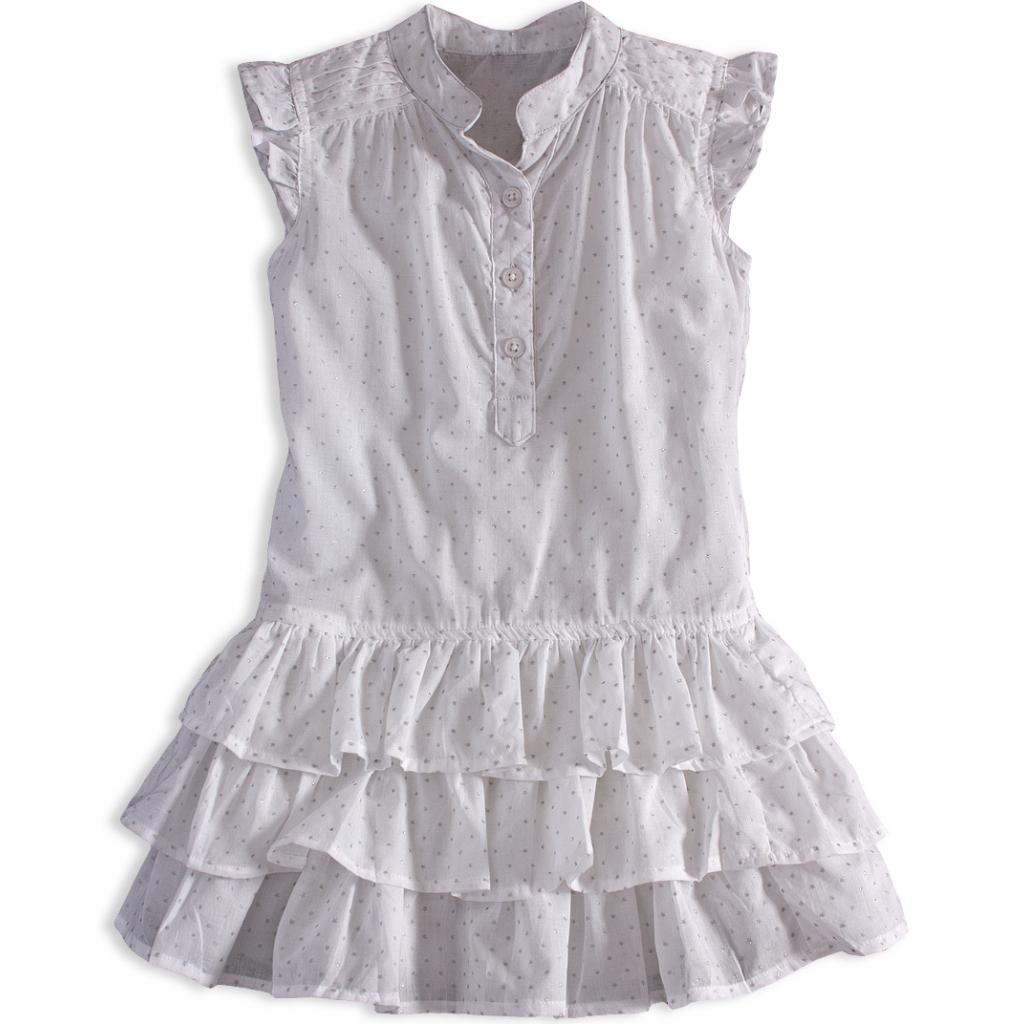 d6a355097cb7 Dievčenské letné šaty PEBBLESTONE GIRLS STAR biele - PELEA.SK